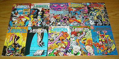 Legion of Super-Heroes #1-63 VF/NM complete series + annual 1-4 levitz giffen