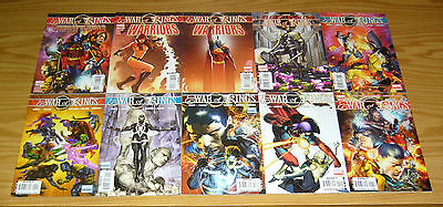 War of Kings #1-6 VF/NM complete series + who will rule + warriors 1-2 + secret