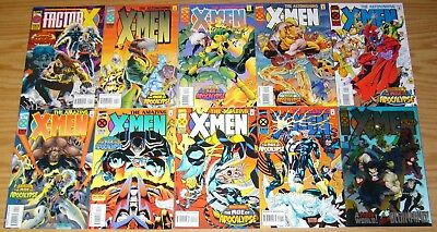 X-Men: Age of Apocalypse mega set of (39) VF/NM multiple complete series 1994