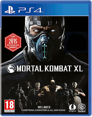 Mortal Kombat XL PlayStation 4 (PS4) [New Game]