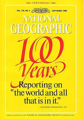 National Géographic(EN)Vol.174 NO.3 September 1988 100 Years,...