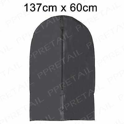 4 x Long Dress & Coat Cover Hanging Zip Up Travel Storage Protector Bag Clothes