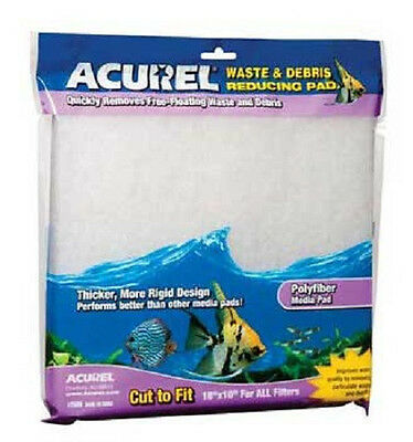 """Loving Pet Acurel Fiber Media Pad Filter Cut To Fit 10X18"""" Free Ship To Usa Only"""