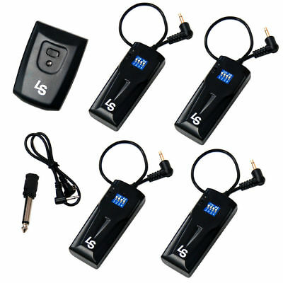 16CH Wireless Remote FM Radio Flash Speedlite Trigger w/2.5mm 4 Receivers