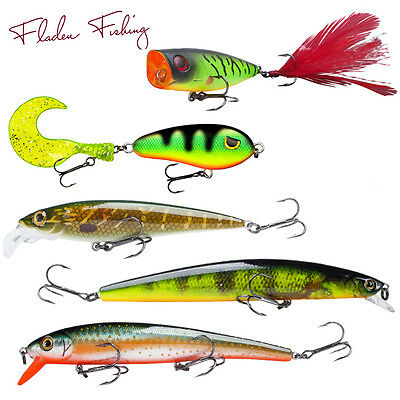 Fladen Maxximus Predator Lures Floating/Sinking for Pike, Perch, Zander