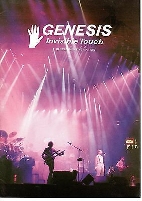 Genesis Information A4 Magazine Fan Club Issue 40 1986 Ex 12 pages
