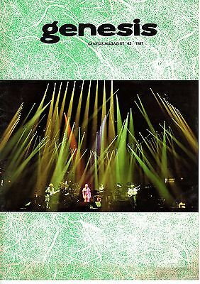 Genesis Information A4 Magazine Fan Club Issue 43 1987 Ex 12 pages + Insert