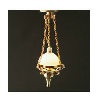 Dolls House Lighting:   Hanging Victorian Style Light  :  in 12th scale