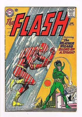 Flash # 145 The Weather Wizard Blows Up a Storm! Infantino cover grade 6.0 hot !