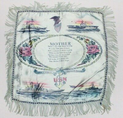 Home Front:  Pillow Cover - U.S. Navy (ships)