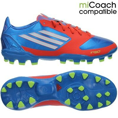 d517557afdc ADIDAS F30 FG men s soccer cleats pink white blue FG-studs NEW ...
