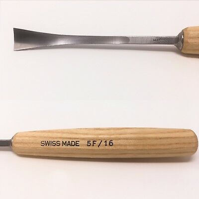 PFEIL SWISS MADE 5F/16  FISHTAIL CARVING GOUGE-$8.95 to ship, extras ship $1 ea