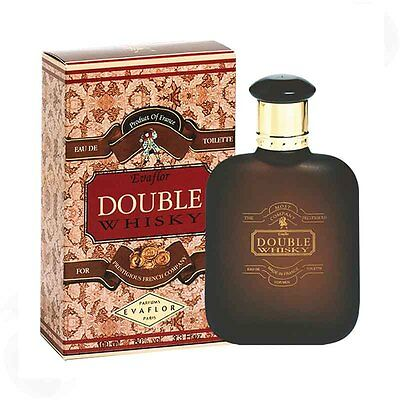 Whisky Double Whisky Eau de Toilette  for Men 100ml holzig blumiger moschus Duft