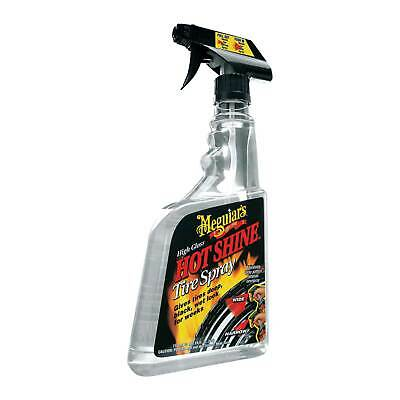 Meguiars Hot Tyre Shine 710ml Dressing High Gloss/Wet Look/Deep Shine
