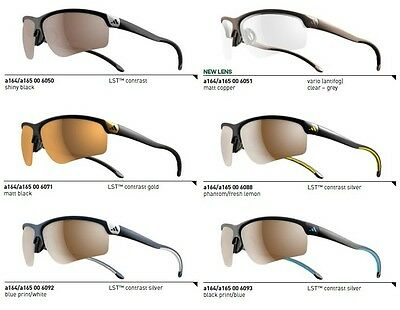 Adidas Brille Adivista a164 - Large / a165 - Small Golfbrille, Laufbrille