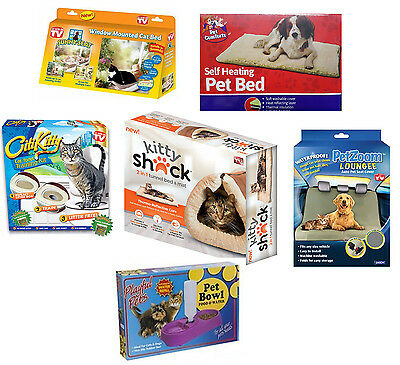 Sunny Seat Kitty Shack Citty Kitty Pet Zoom Loungee Cat Dog Mat Heat Bed Feeder