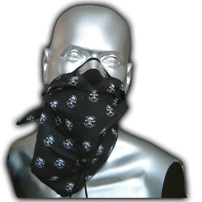 Respro Bandit Anti-Pollution Bicycle Bike Cycle Cycling Face Mask Scarf Skulls