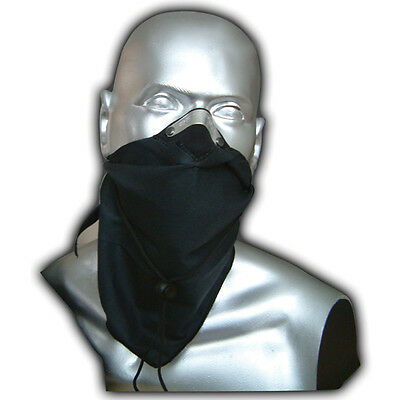 Respro Bandit Anti-Pollution Bicycle Bike Cycle Cycling Face Mask Scarf Black