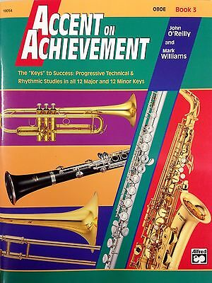 Accent on Achievement for Oboe Book 3