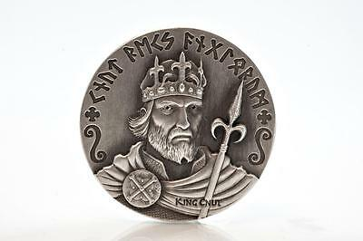 2015 2 oz Silver Coin CNUT Viking Series by Scottsdale Mint .999 Silver #A374