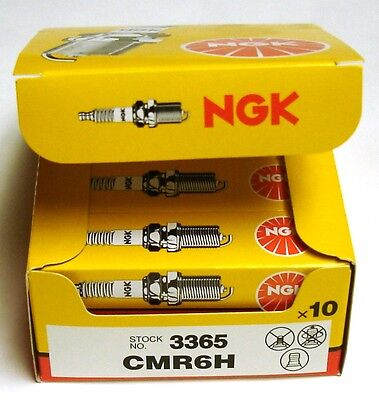 NGK Spark Plugs (10-Pack) for Stihl Edgers FC56C FC70 FC83 FC90 FC95   CMR6H(10)