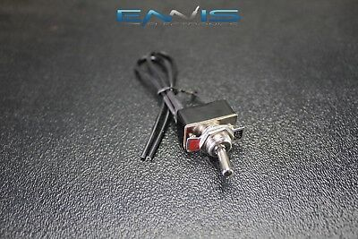 On Off Toggle Switch Pre Wired 2 Amp 250V 4 A 125V Spst Rocker Ibtsss