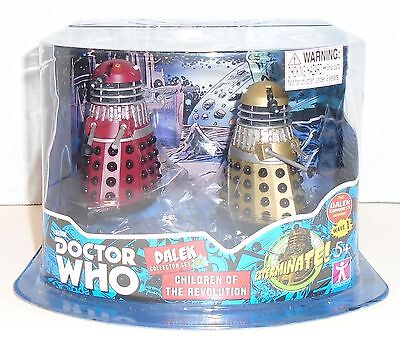 """DOCTOR WHO """"DALEK COLLECTOR SET #1"""" Children of the Revolution NEW"""