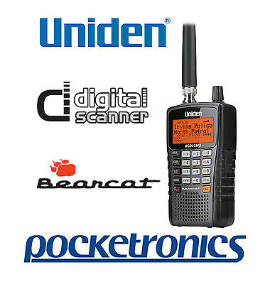 Uniden BCD325P2-AU Digital Scanner Trucks/Aviation/Emergency NEW Trunk Tracker V
