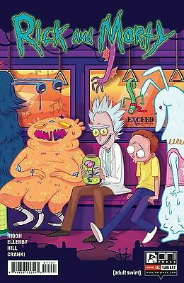 Rick and Morty #11 Exceed Exclusives Variant 1500 Oni Press Comic Book ex1