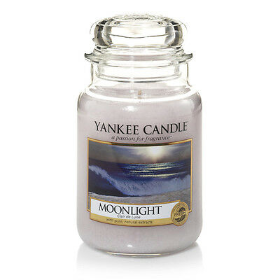 Yankee Candle Moonlight Grosses Glas 623 g
