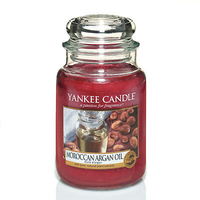 Yankee Candle Moroccan Argan Oil Grosses Glas 623 g