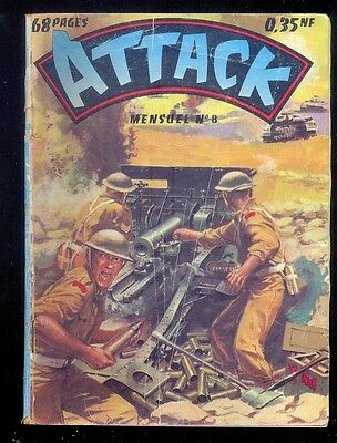 Attack n°8, Editions Impéria 1960, guerre