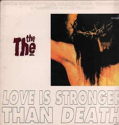 """The The(12"""" Vinyl P/S)Love Is Stronger Than Death-Epic-659371 6-UK-1993-VG+/Ex"""