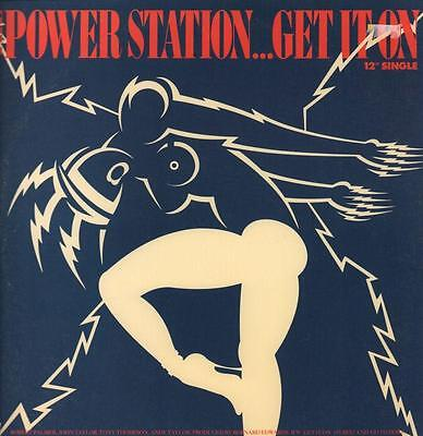 "The Power Station(12"" Vinyl P/S)Get It On-Capitol-V 8646-US-1985-VG/Ex+"