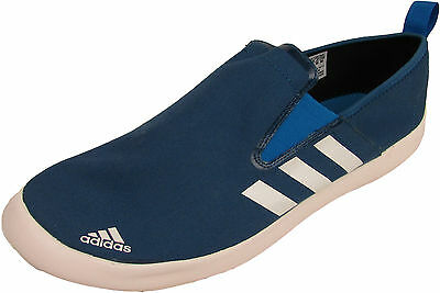 Adidas Boat Slip-On DLX Water Pumps Shoes Outdoor Trainers Blue Q34249 Size 4-12