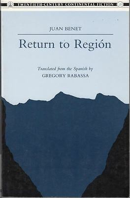 Return to Region : J Benet