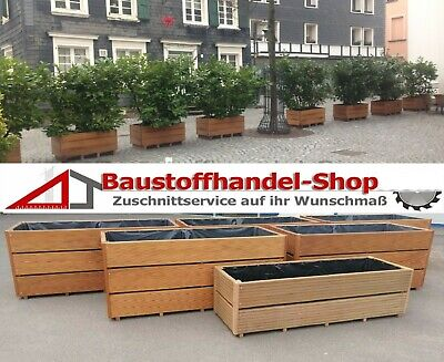 pflanzkasten blumenk bel holz massiv pflanztrog garten deko blumenbank eur 99 90 picclick de. Black Bedroom Furniture Sets. Home Design Ideas