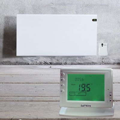 ADAX Neo Electric Radiator Wall Mounted Panel Heater with Wireless 24/7 Timer