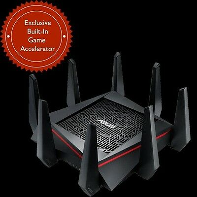 ASUS RT-AC5300 GAMING Wireless AC5300 Tri-Band Router NBN READY