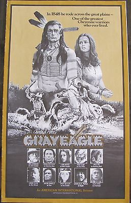 Charles B. Pierce's GRAYEAGLE Native American Indian 1977 AIP Movie Pressbook