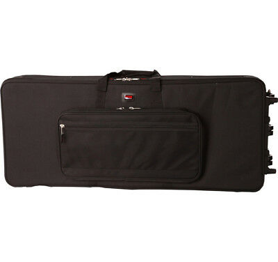 Gator Cases Gk-88 Slxl New 88 Note Keyboard Slim Long Case / Bag With Wheels