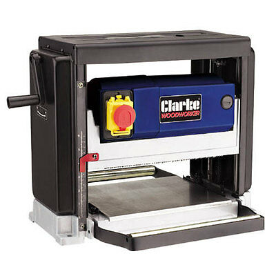 """Clarke 254Mm (10"""") Portable Thicknesser - 6500860 - CPT250"""