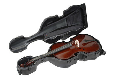 Skb Cases 1Skb-544 Molded Case For 4/4 Cello Guitars With Wheels 1Skb544 New