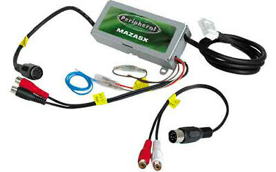 Peripheral MAZASX 04-06 Mazda To Alpine Cd Changer Interface Aux Input Adapter
