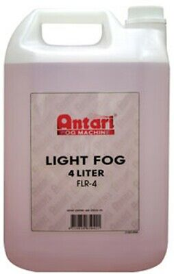 Elation Antari FLR-4 Low Lying Fog Fluid 4 Ltr Optimized For Antari Fog Machines