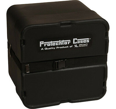 Gator Cases GP-PC317 Black Molded Timbales Case Water-Resistant W/ Divider New