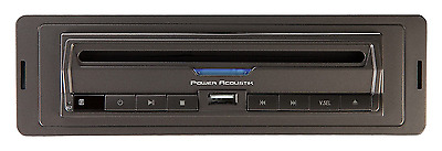 Power Acoustic PADVD-390 New Single Din Dvd Player W/ 32Gb Sd & Usb Playback