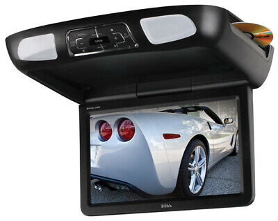 "Boss Audio BV10.1MC 10.1"" Flip Down Tft Monitor With Built In Dvd Player New"