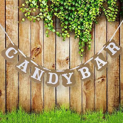 New Arrivals 2015 Candy Bar Festival Party Decoration Bunting Garland Banner