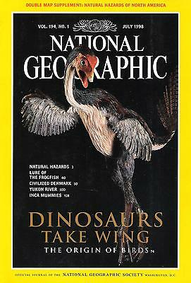 National Géographic(EN) VOL.194 NO.1 July 1998 Dinosaurs Take Wing,...
